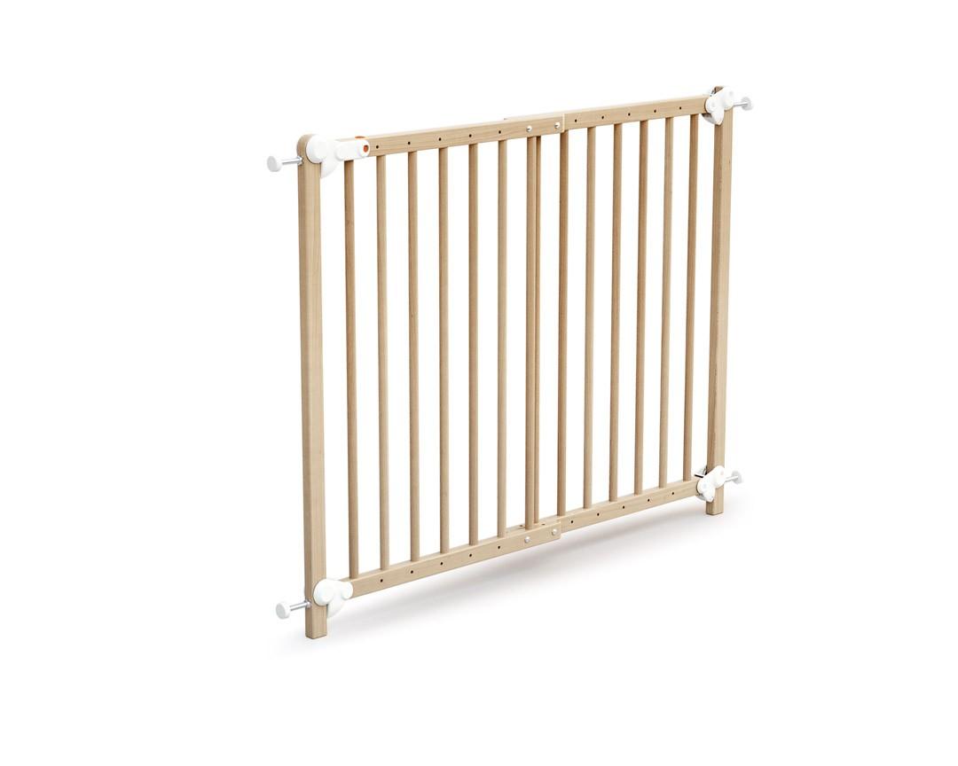 AT4 Barrière de sécurité Extensible ESSENTIEL Hêtre verni