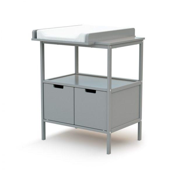 at4 meuble langer essentiel gris
