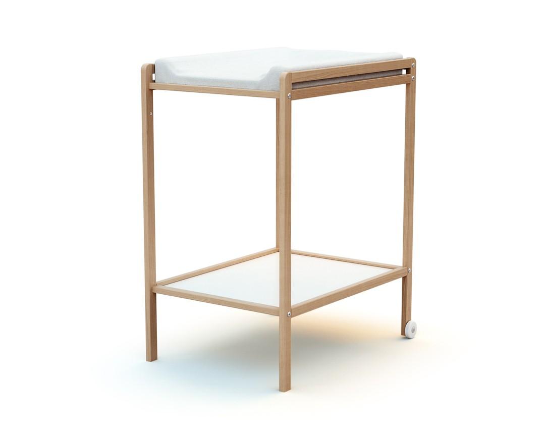 AT4 Table à Langer ESSENTIEL Hêtre verni