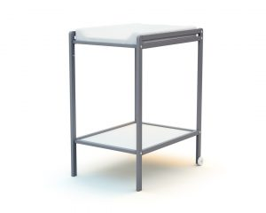 Table à langer 1 étagère gris