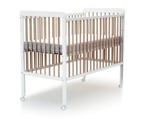 Lit bébé coulissant à barreaux
