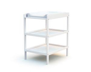 Table à langer 2 étagères blanche
