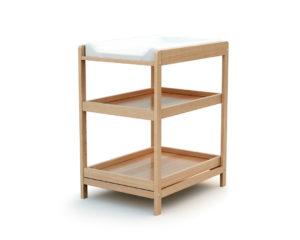 Table à langer bois