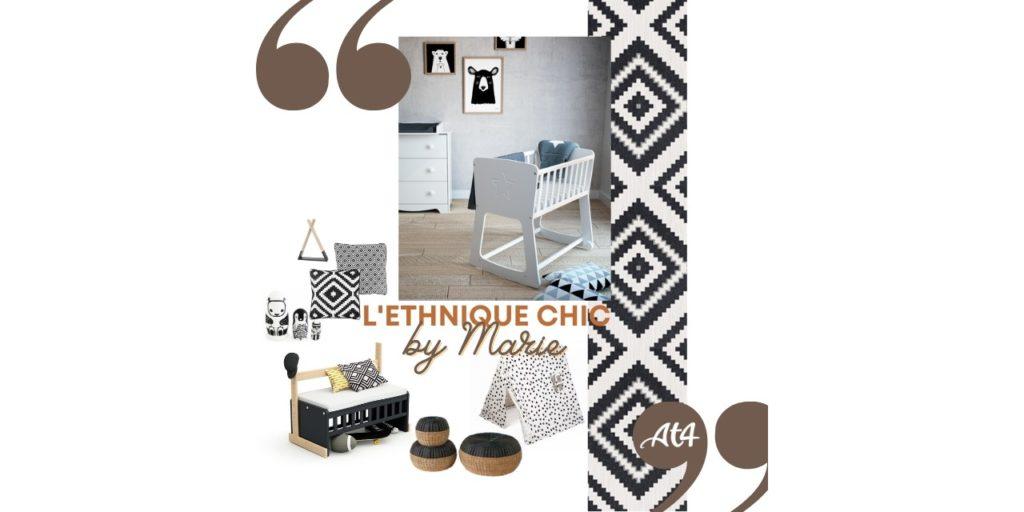 AT4 Ethnique Chic en Noir et Blanc