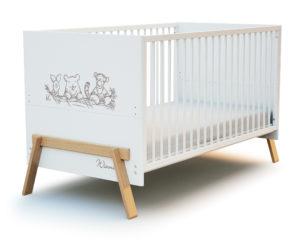 Lit bébé 70x140 CANAILLE Winnie