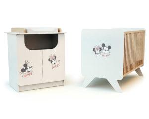 Duo DISNEY Happy Days Mickey et Minnie